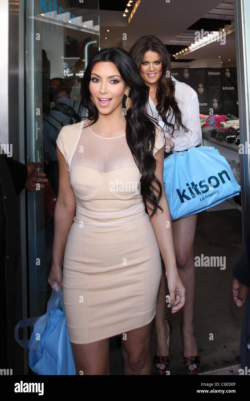 Kim Kardashian Kardashians Meet Greet Stock Photos Kim Kardashian