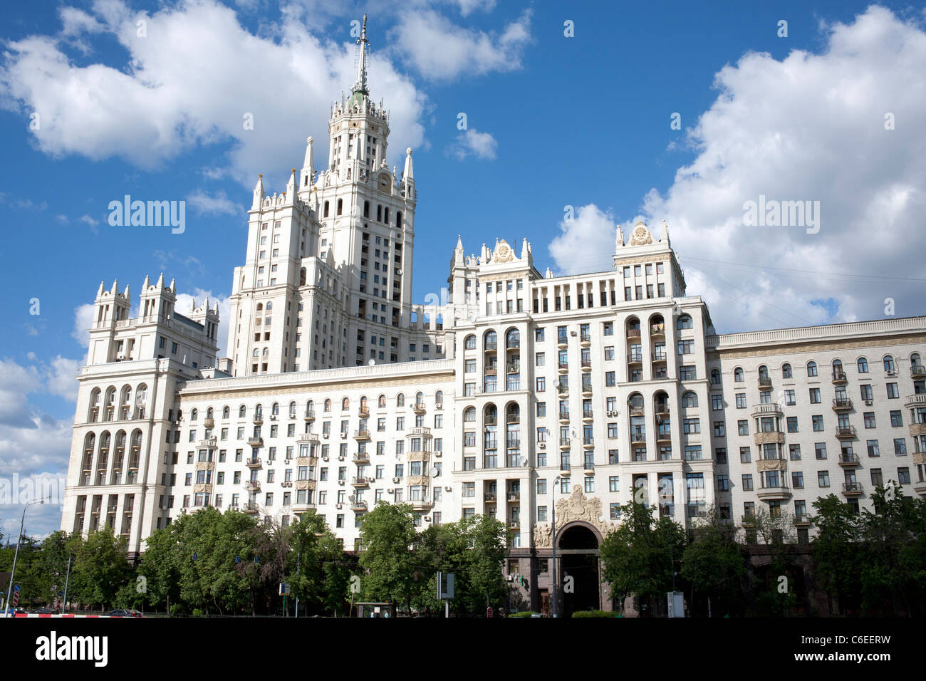 Russia, Moscow, Seven Sisters building Stock Photo