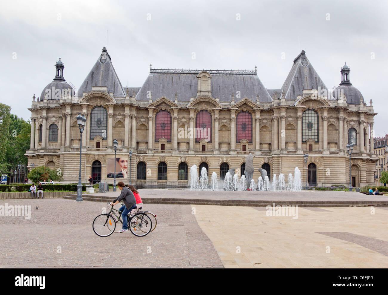 The museum Palais des Beaux-Arts, Place de la Republique, city of Lille, Nord-Pas de Calais, France Stock Photo