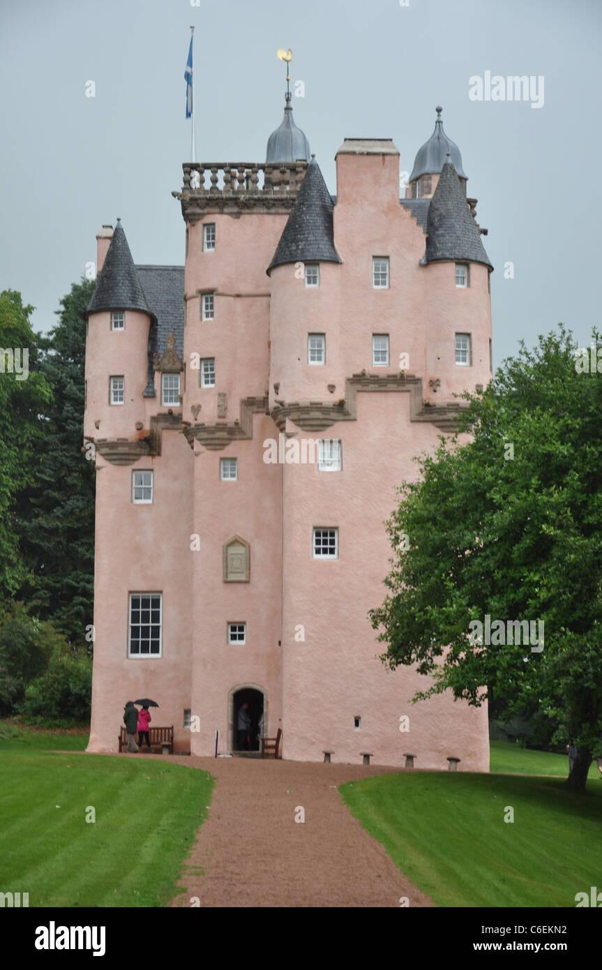 NTS owned Craigievar Castle, Near Alford, Aberdeenshire, Scotland, UK - Stock Image