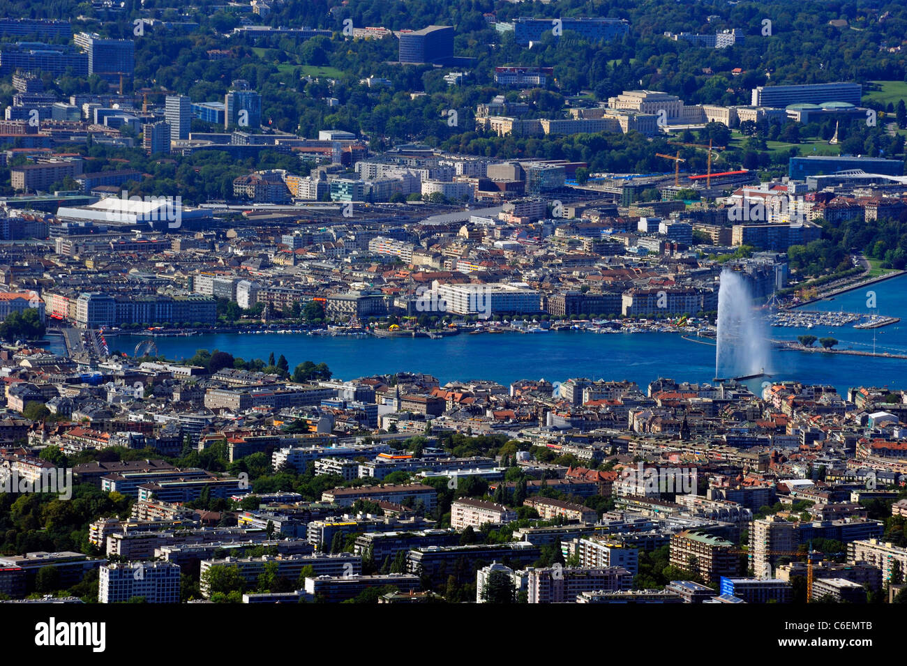 Geneva. View from above 41