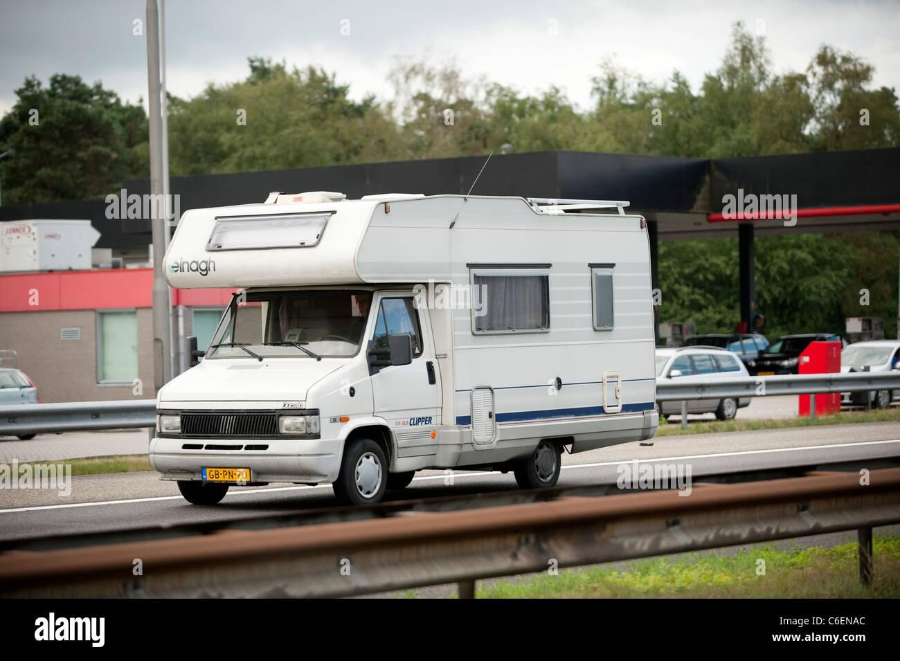 Campervan Motorhome Ede Holland Netherlands Europe Stock Photo - Alamy