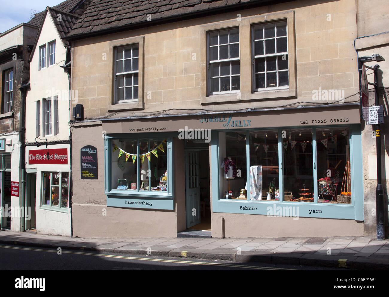 Jumble Jelly Shop Bradford on Avon - Stock Image