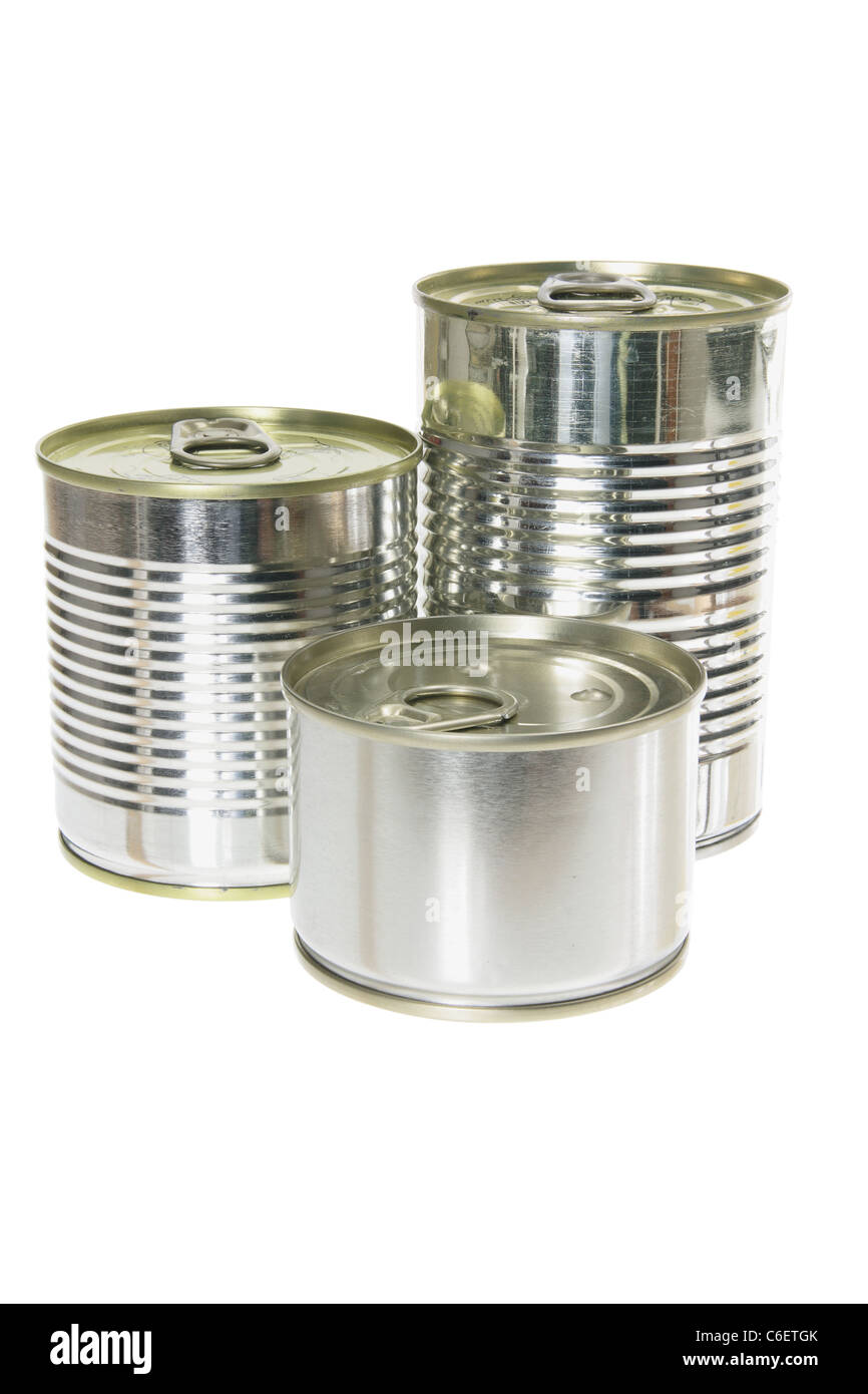Canned Food - Stock Image