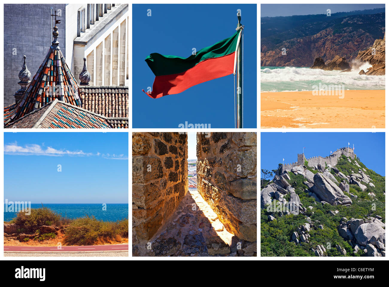 Collage - Portugal Stock Photo