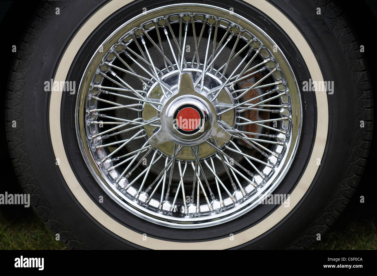 Sports Car Wheel - Stock Image