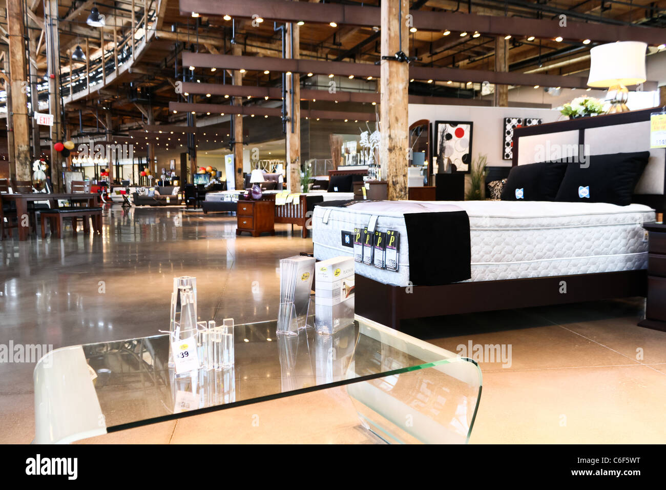 Beau Luxury Furniture Store Showroom