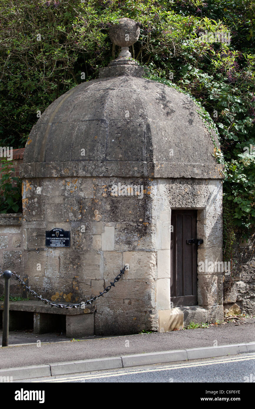 The Old Lock up or Blind House at Hilperton - Stock Image