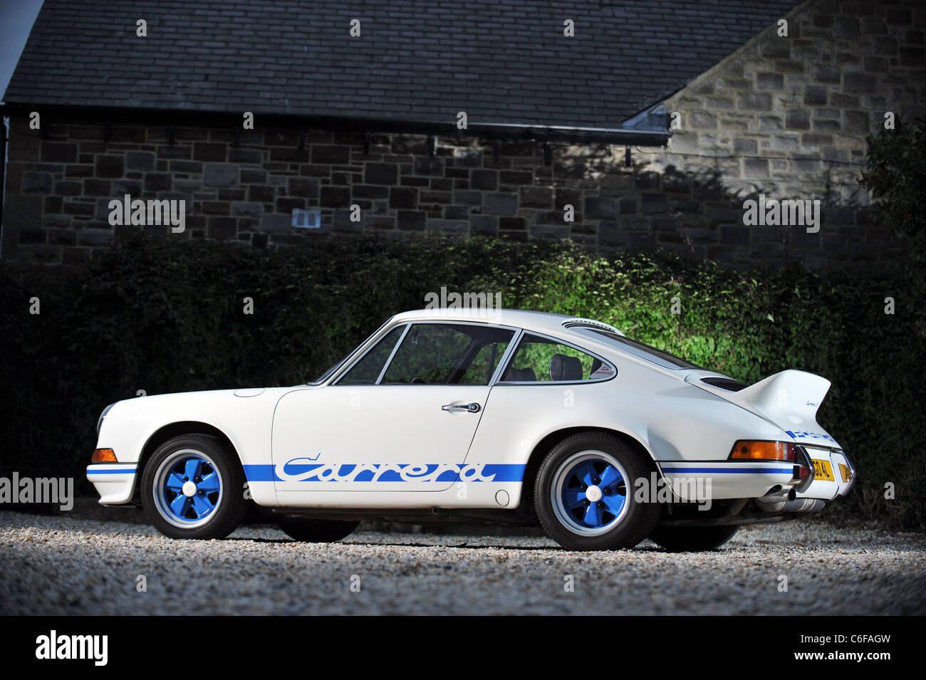 1973 Porsche 911 Carrera Rs 2 7 Litre Lightweight Coupe Stock Photo Alamy