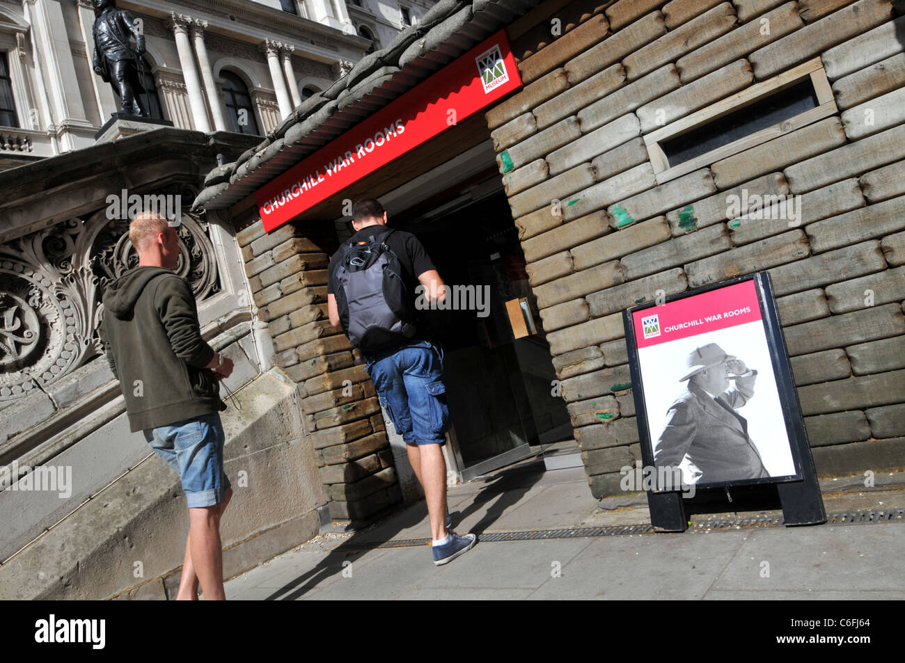 Churchill War Rooms, London, Britain, UK - Stock Image