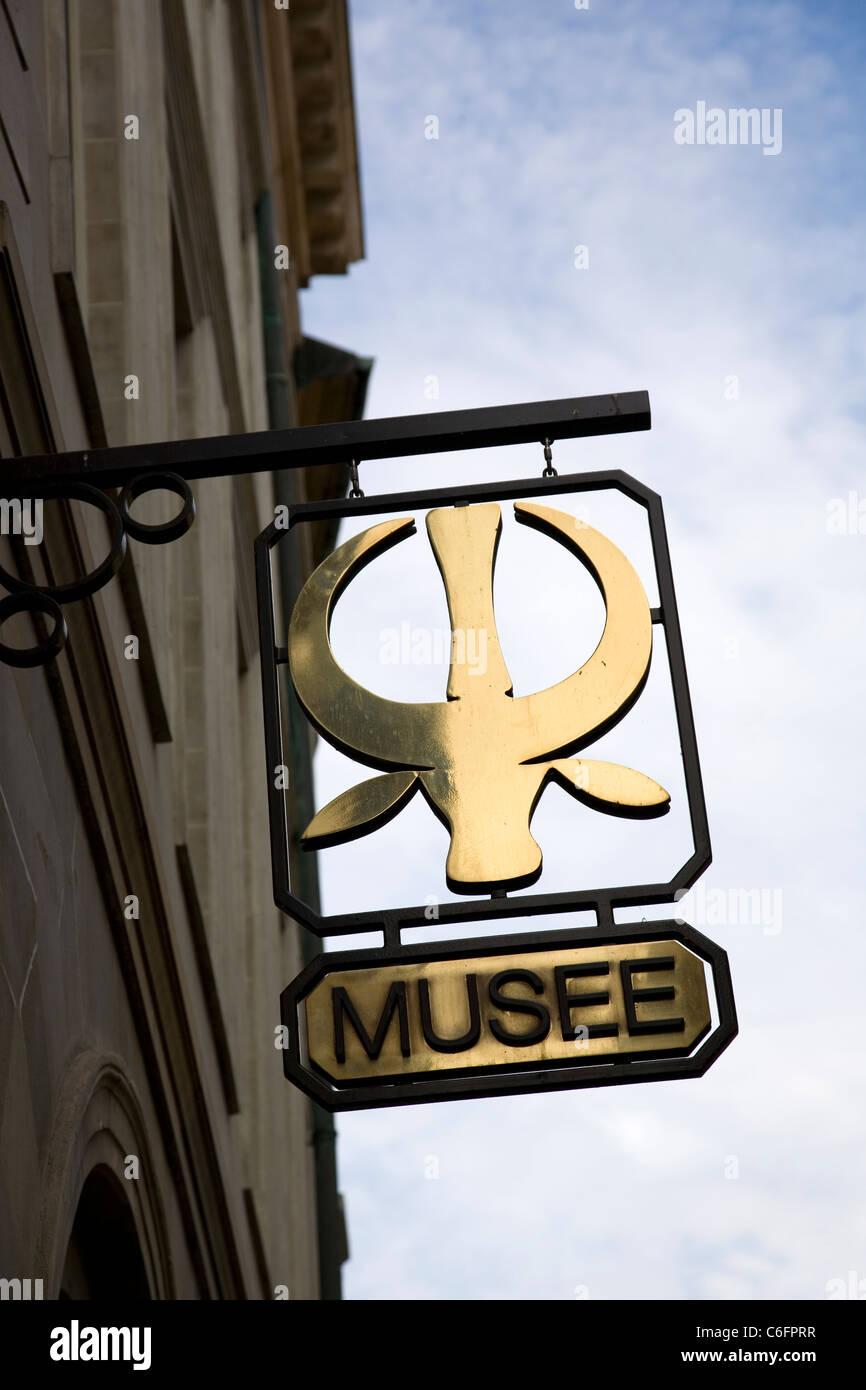 Musee Barbier-Mueller in Geneva - Switzerland - Stock Image
