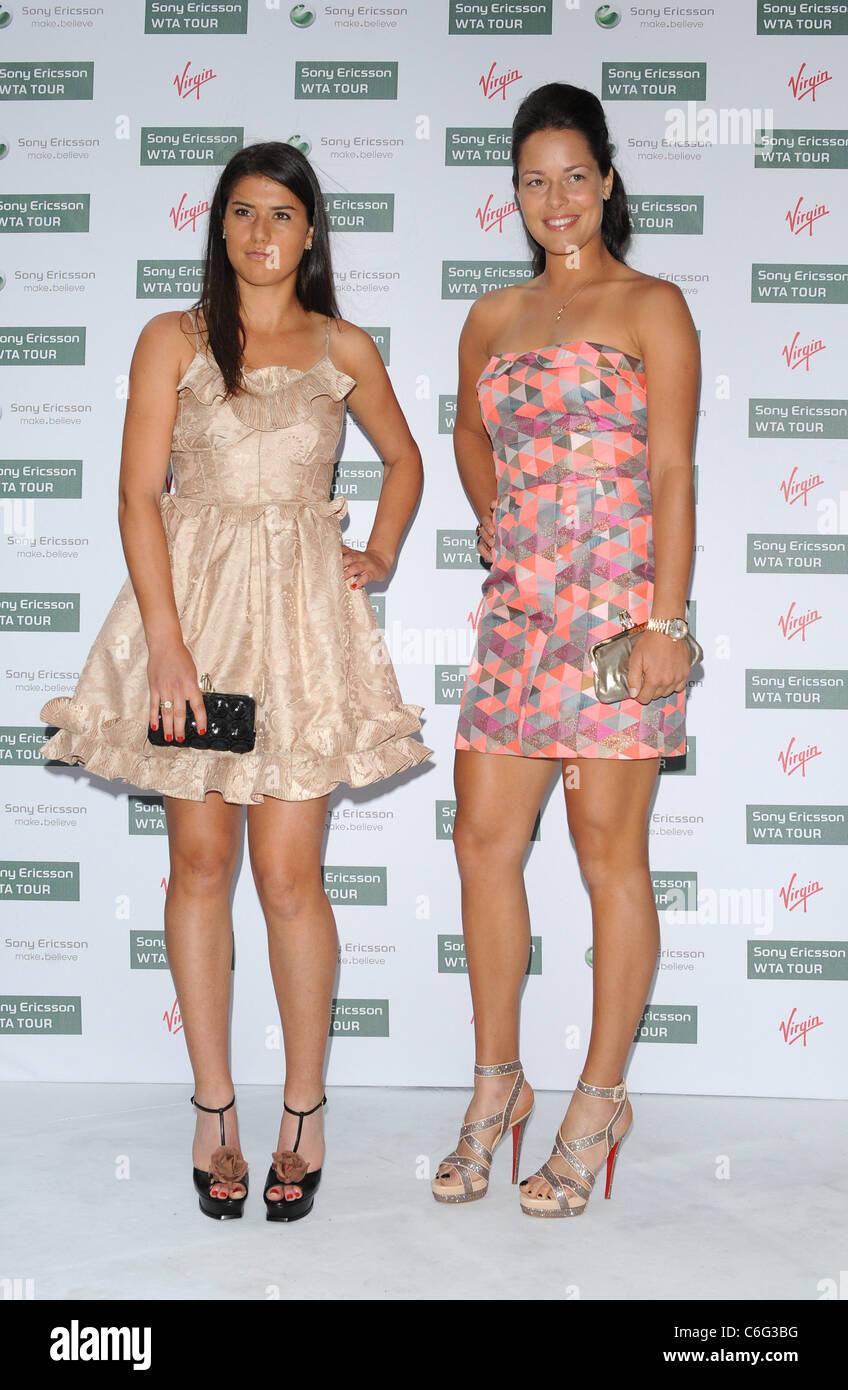 Ana Ivanovic Feet ana ivanovic and sorana cirstea pre-wimbledon party held at