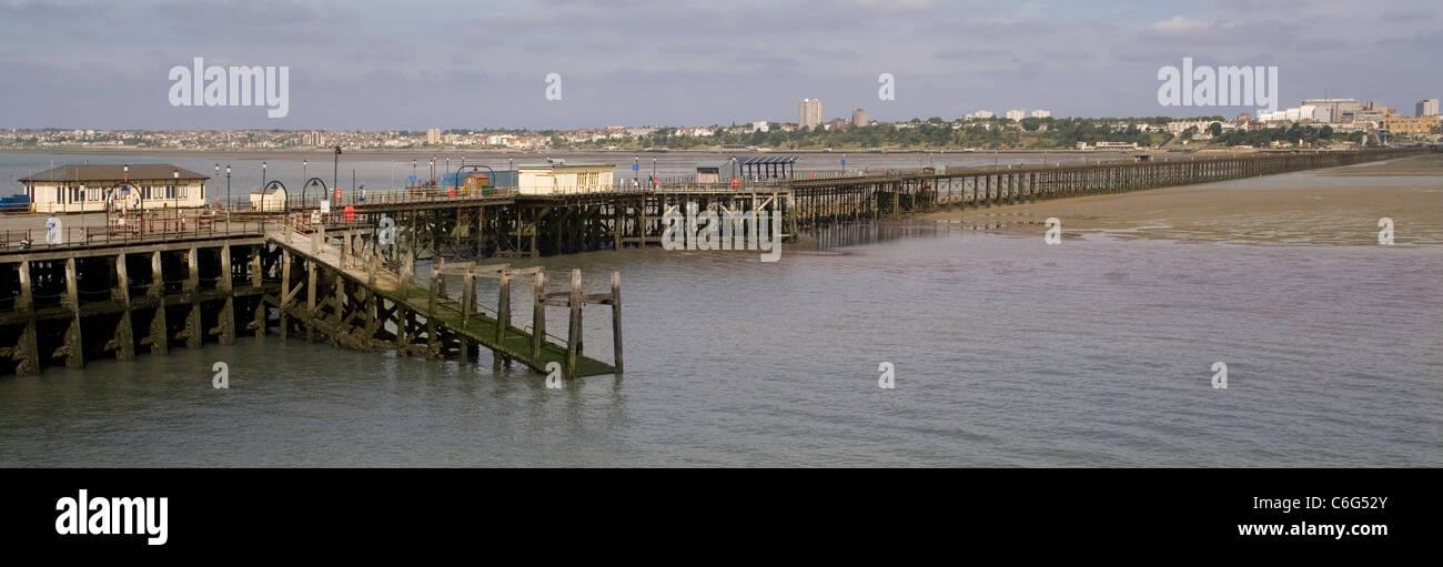 England Essex Southend pier - Stock Image