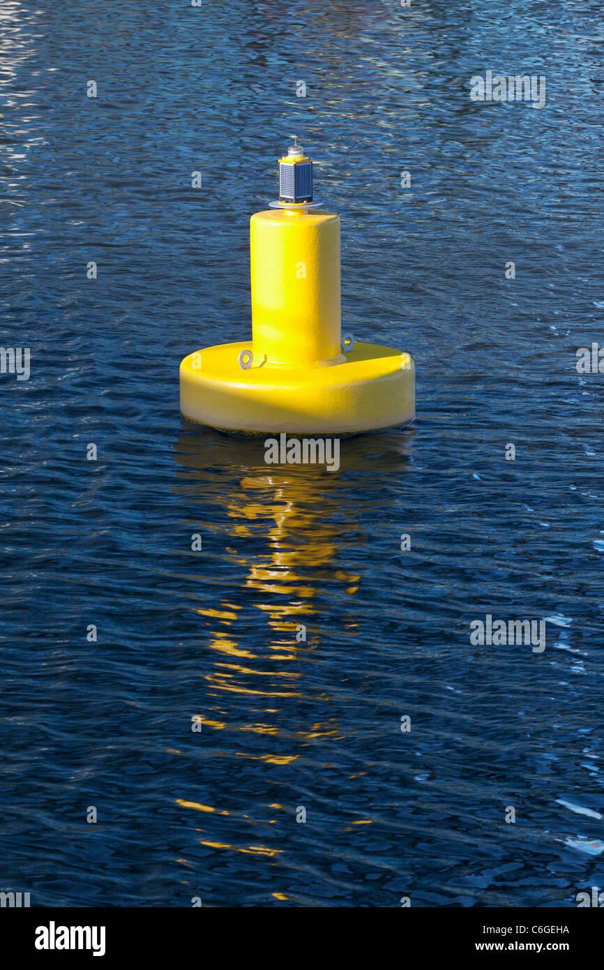 A naval buoy, UK - Stock Image