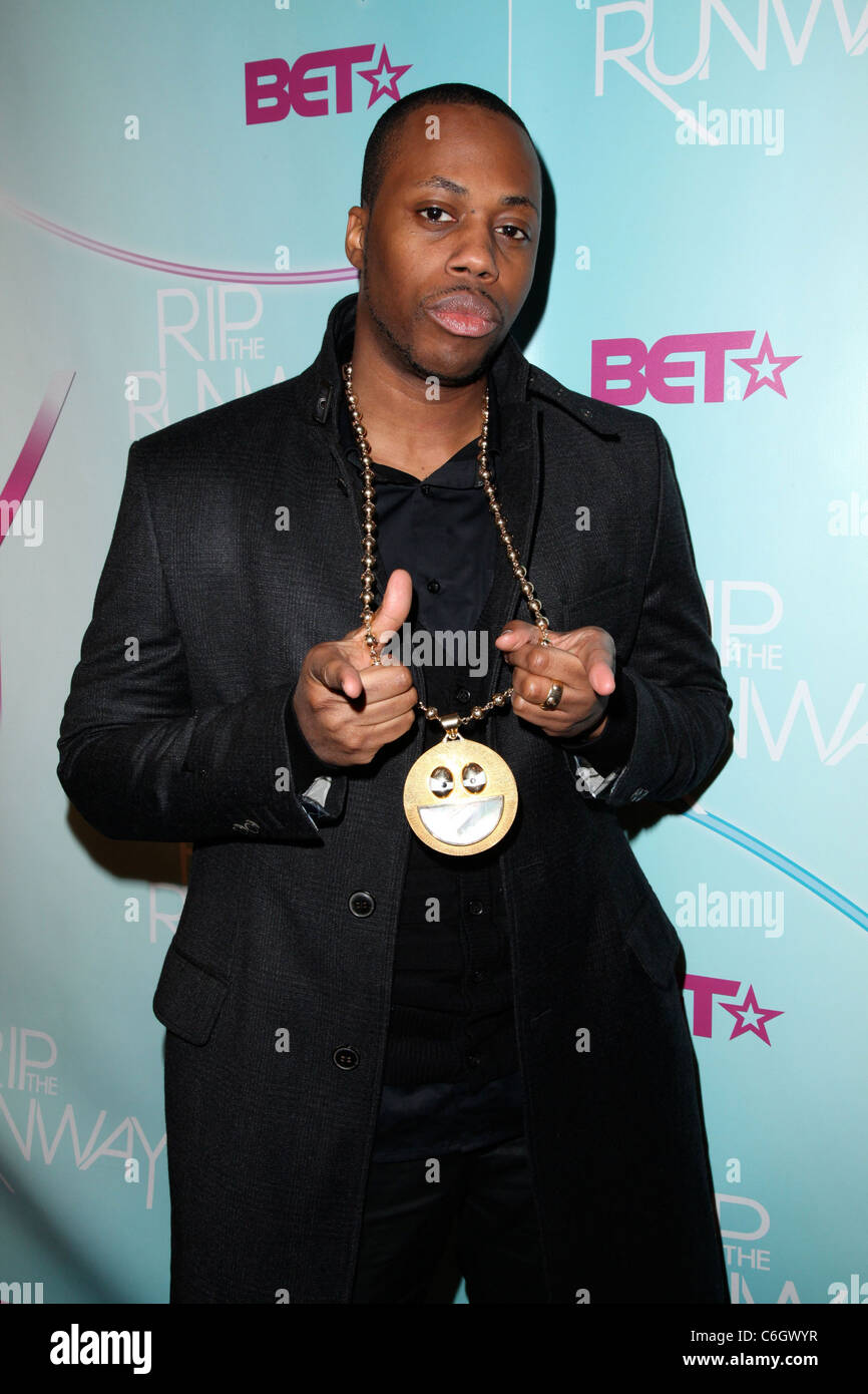 Recording artist Kardinal Offshall BET's Rip The Runway 2010 held at the Hammerstein Ballroom - Arrivals New York Stock Photo