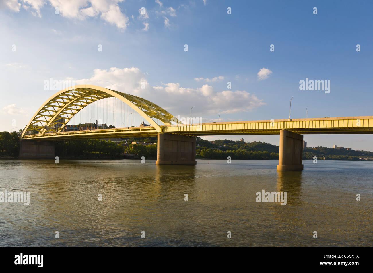 ohio river big mac bridge stock photos ohio river big mac bridge