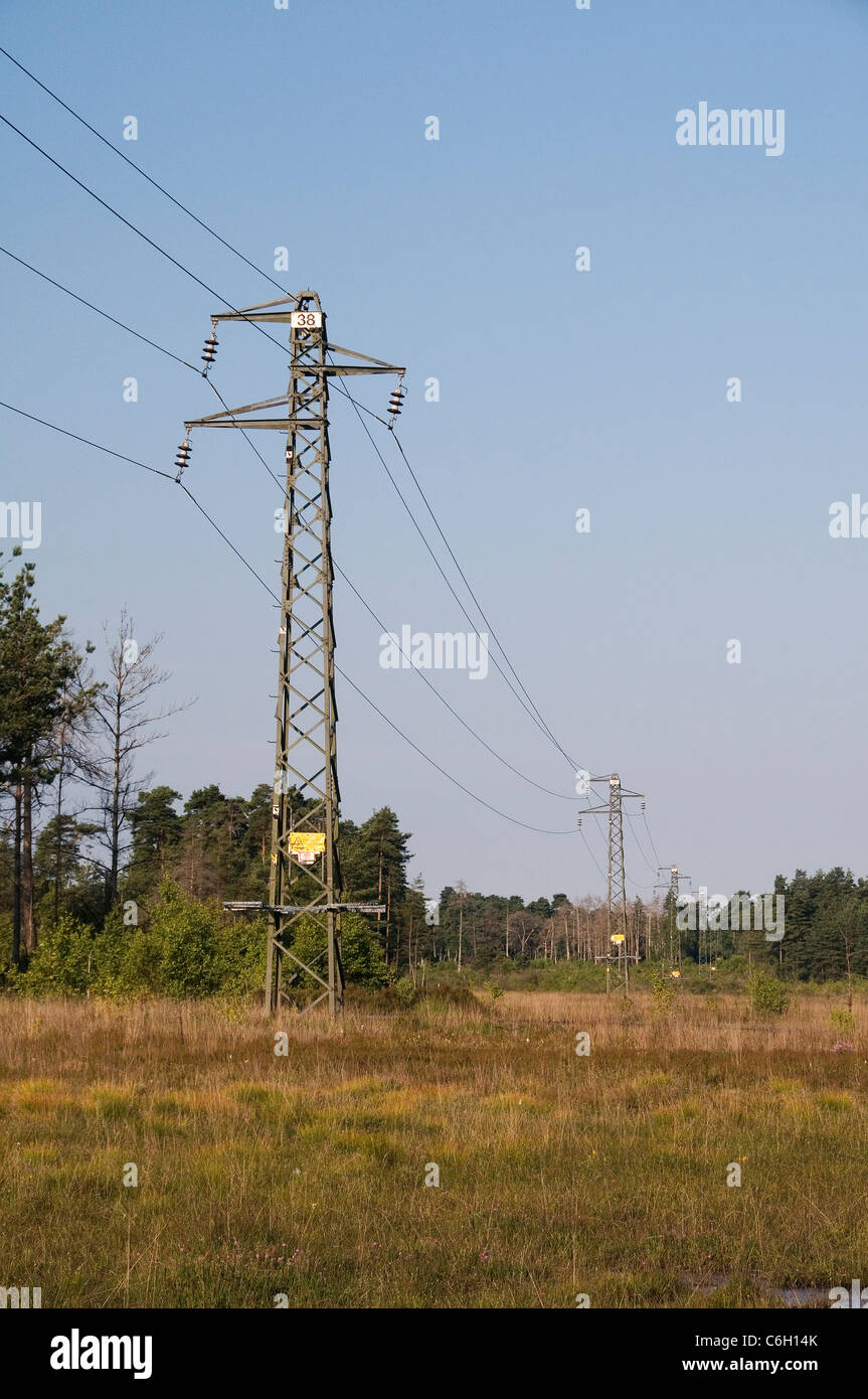Overhead Power Lines Stock Photos Amp Overhead Power Lines