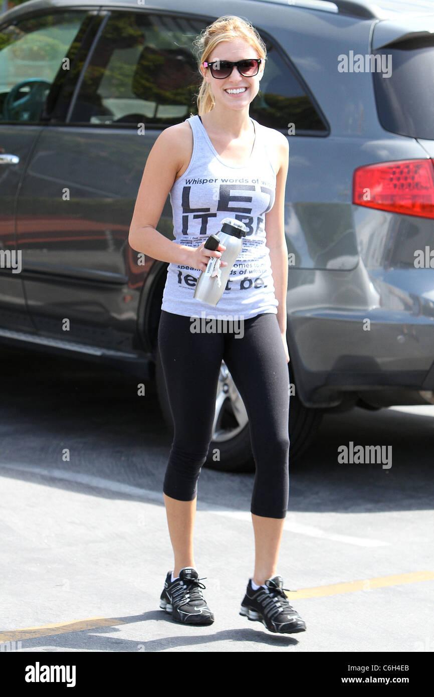 Kristin Cavallari leaving Iron gym in Santa Monica after her