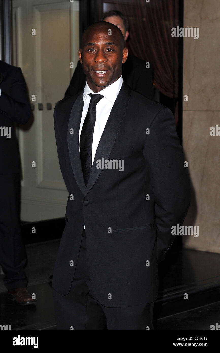 Jason Roberts Professional Footballers' Association (PFA) Awards held at the Grosvenor House Hotel. London, - Stock Image