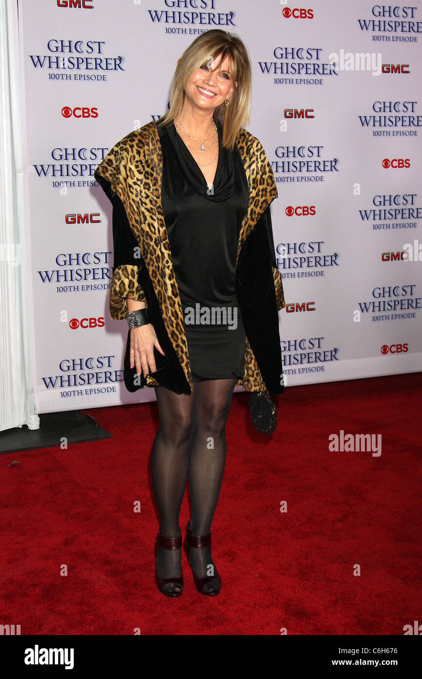 Markie Post Party for the 100th episode of the 'Ghost Whisperer' held at Club XIV. Los Angeles, California - Stock Image