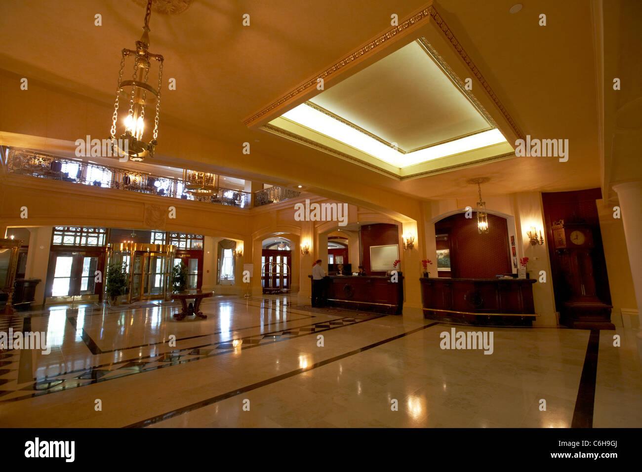 Foyer Of Hotel : Fort garry hotel stock photos