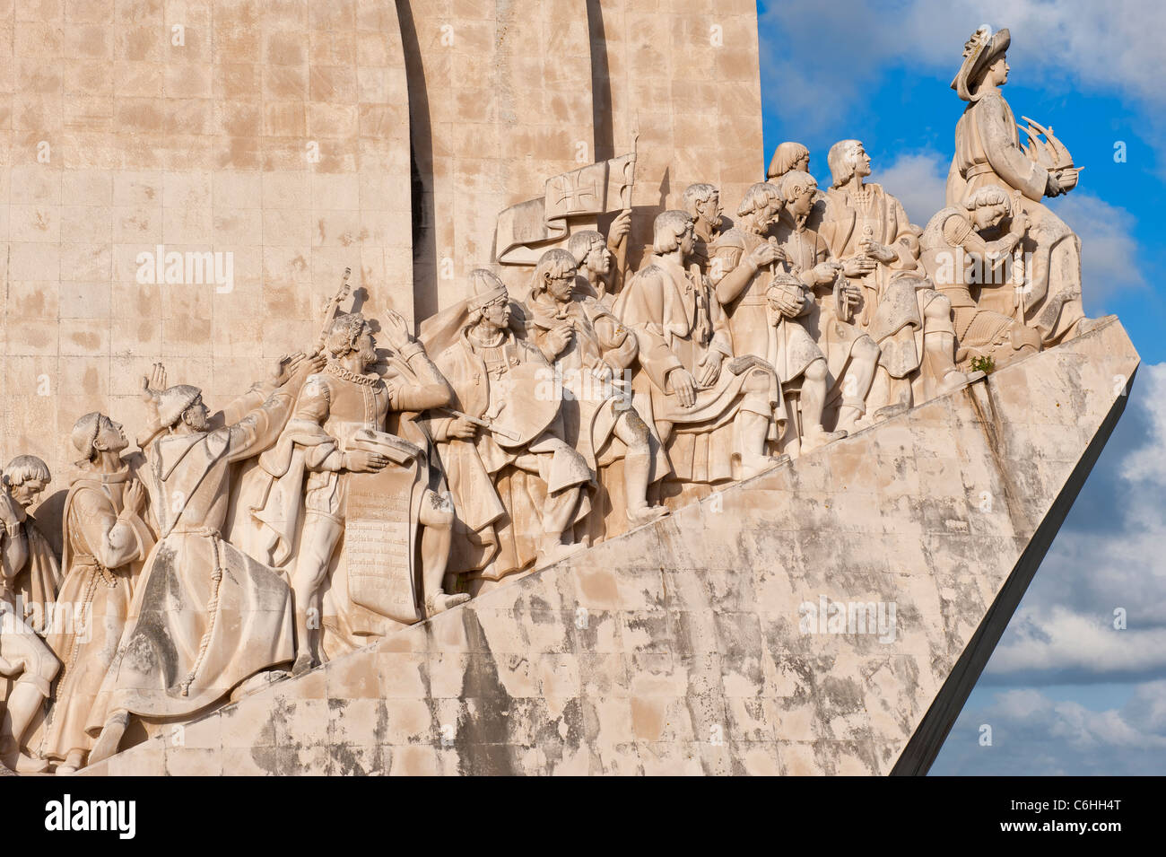 Monument to the Discoveries, Belem district, Lisbon, Portugal Stock Photo