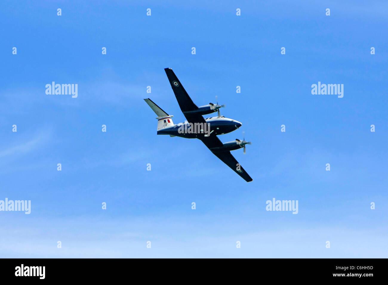 A Beechcraft King Air 350 Turboprop plane - Stock Image