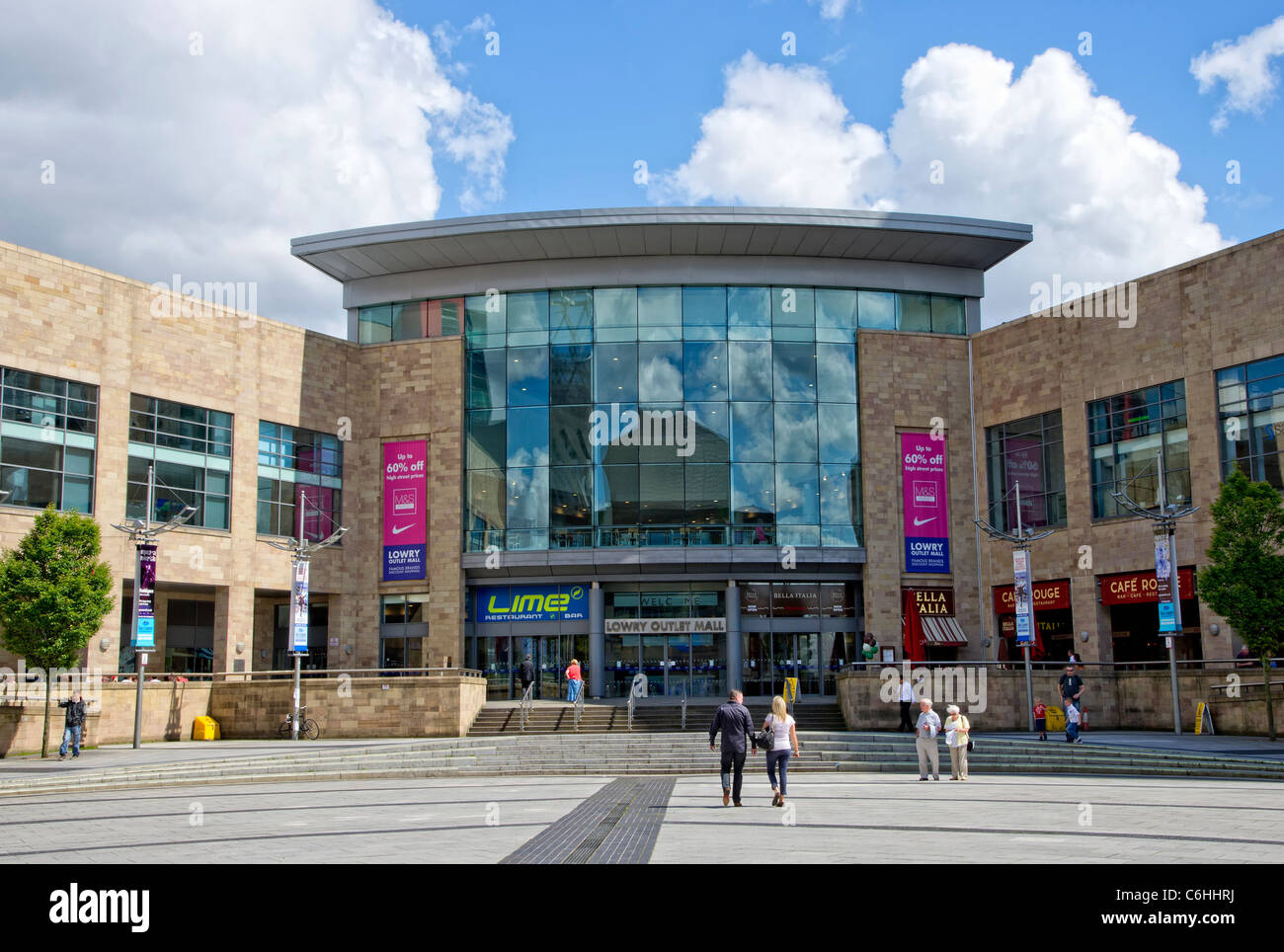 118eab0deb9 Lowry Outlet Mall in Salford Quays near Manchester