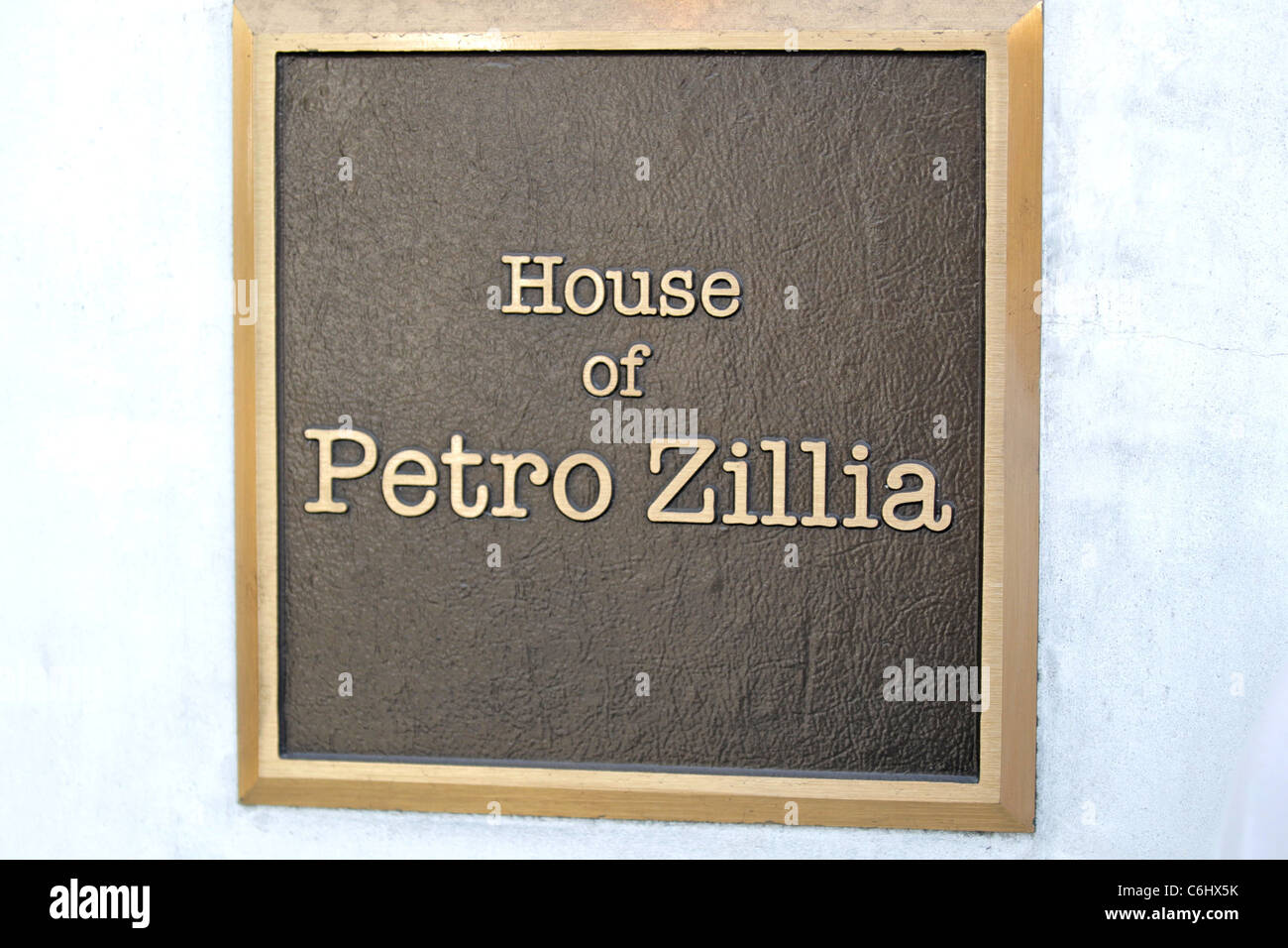 House of Petro Zillia where the Hilton sisters shopped with their mother Los Angeles, California - 26.03.10 - Stock Image
