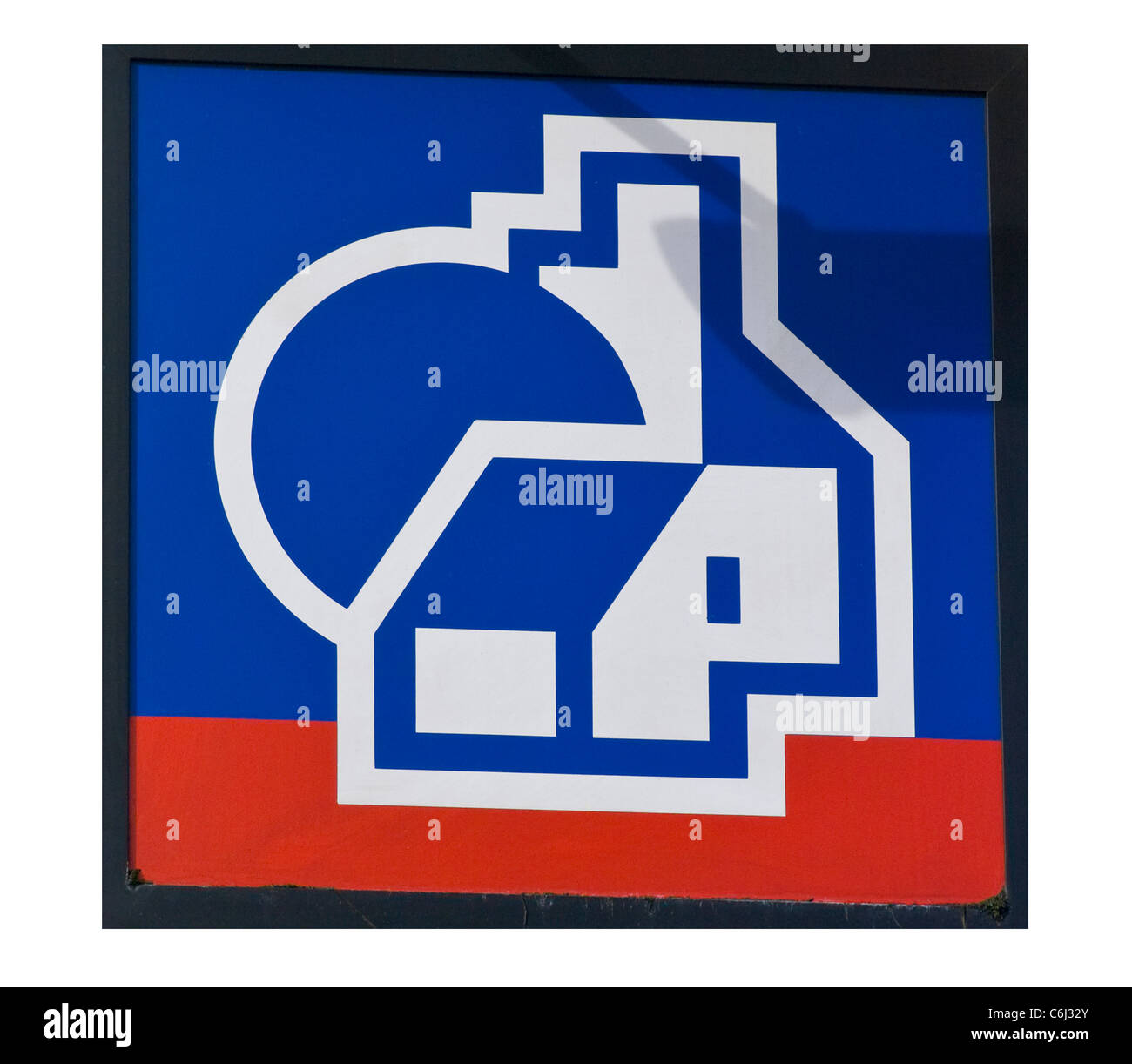 Nationwide Building Society Sign - Stock Image
