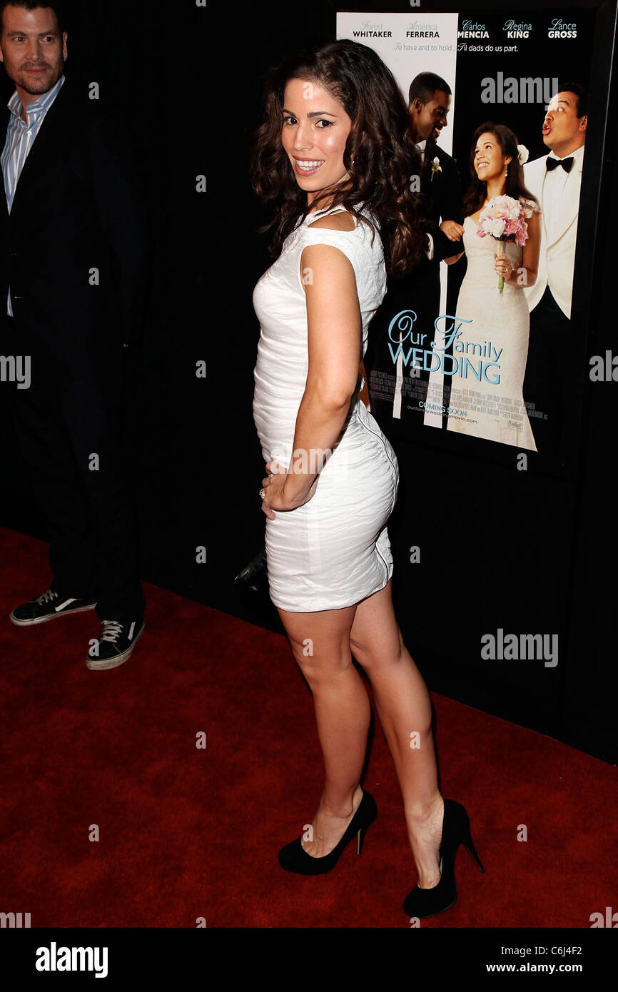 Ana Ortiz Pictures ana ortiz premiere of 'our family wedding' at amc loews
