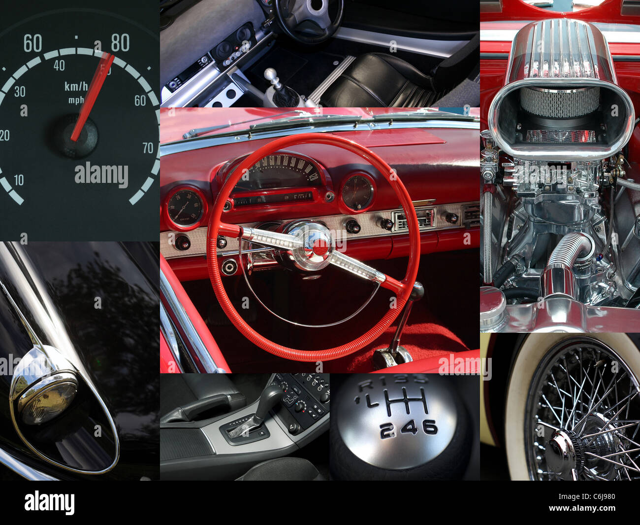 Car Body Parts >> A Collage Of Car Body Parts Collection Stock Photo 38511088 Alamy