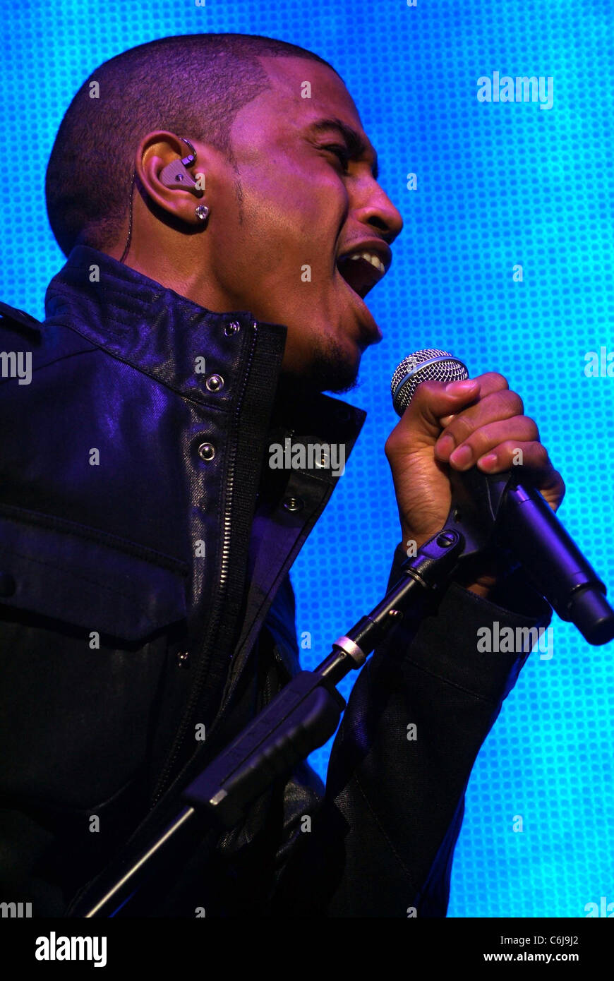Blueprint stage stock photos blueprint stage stock images alamy singer trey songz performs on stage during the opening night of jay zs blueprint 3 malvernweather Image collections