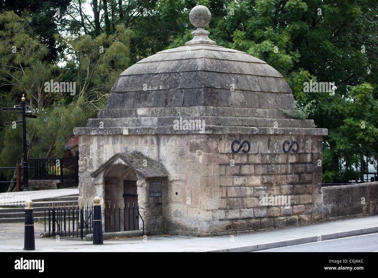 The Old Lock Up Gaol Trowbridge Wiltshire - Stock Image