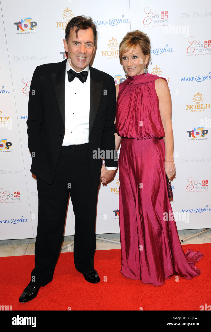 Duncan Bannatyne The Noble Gift Gala held at The Dorchester - Arrivals London, England - 13.03.10 - Stock Image