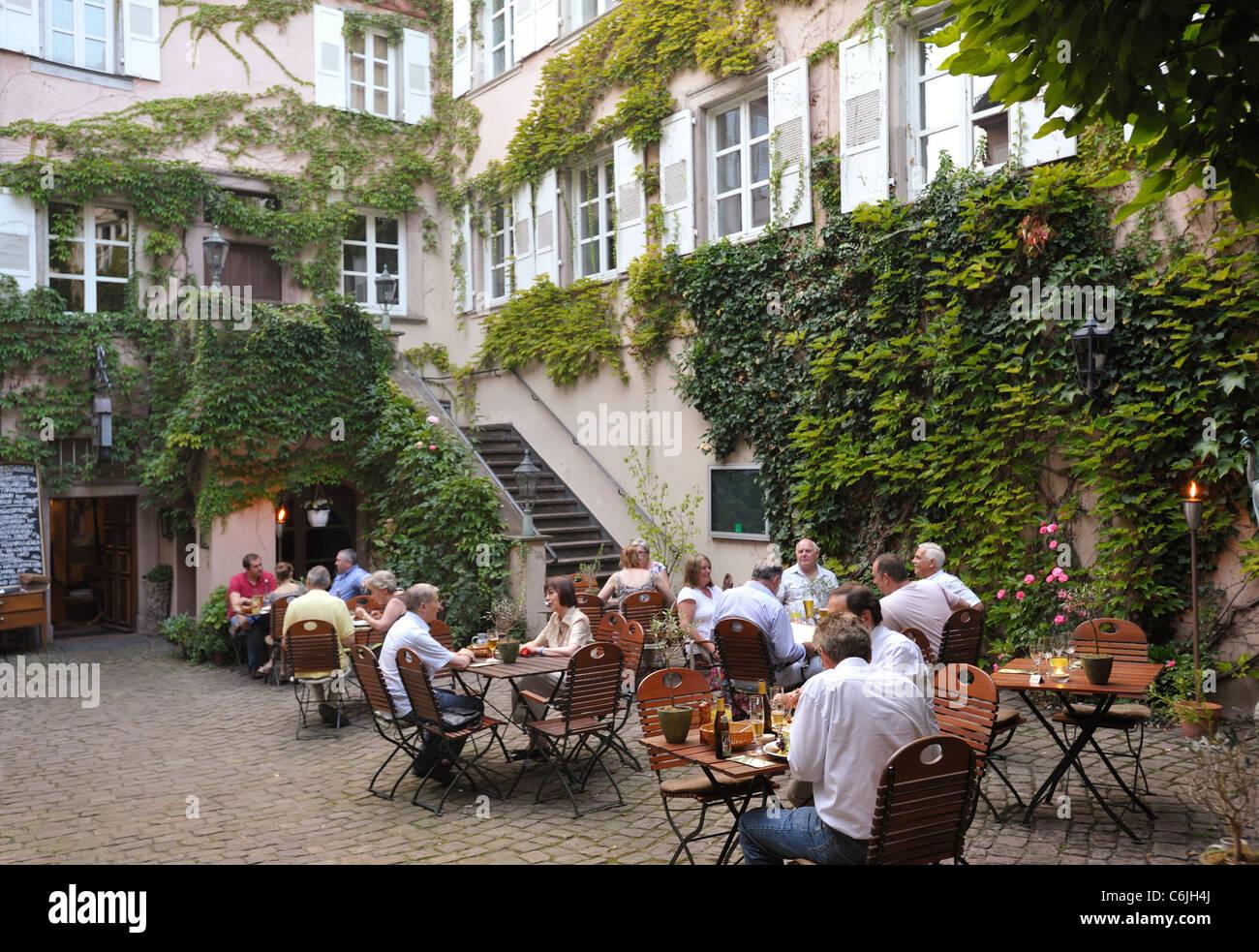 Weinstube Im Baldreit - Stock Image
