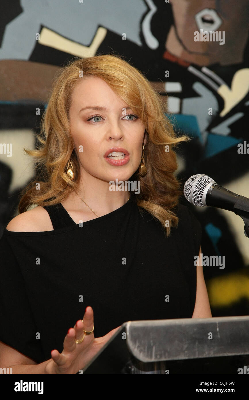 Kylie Minogue, Partron of Studyvox presents the Studyvox Foundation Awards. Oxfordshire, England - 25.02.10 Shaun - Stock Image