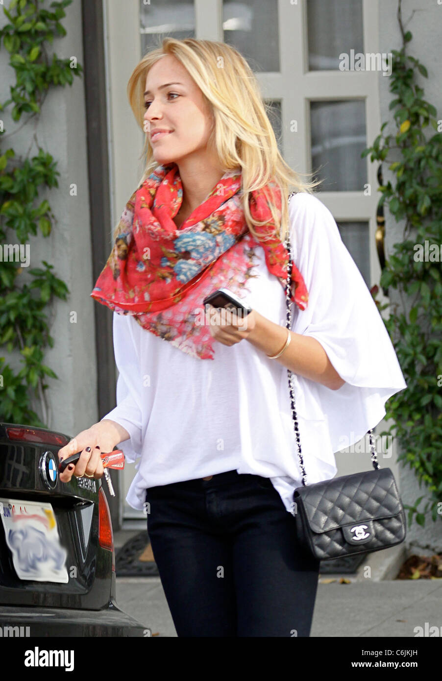 6cd23bd95a83ea Reality star Kristin Cavallari from the tv show 'The Hills', leaving Neil  George