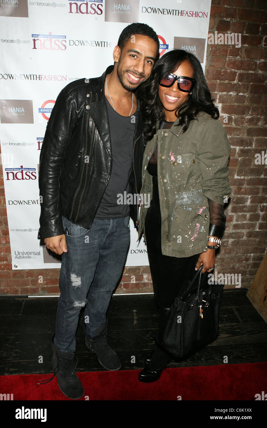 Ryan Leslie And June Ambrose 1st Annual Downe With Fashion Event Stock Photo Alamy