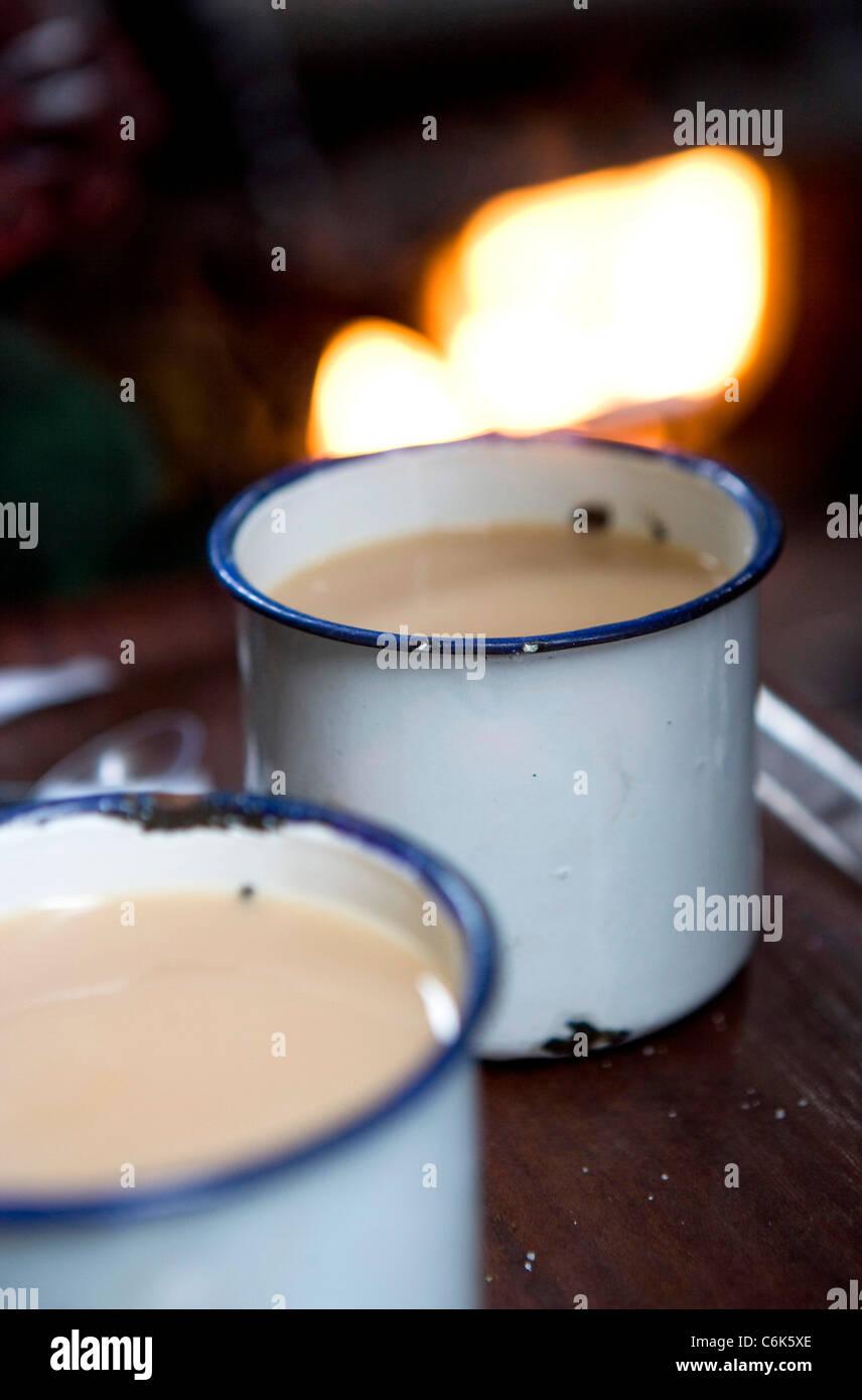 tea candle steam engine