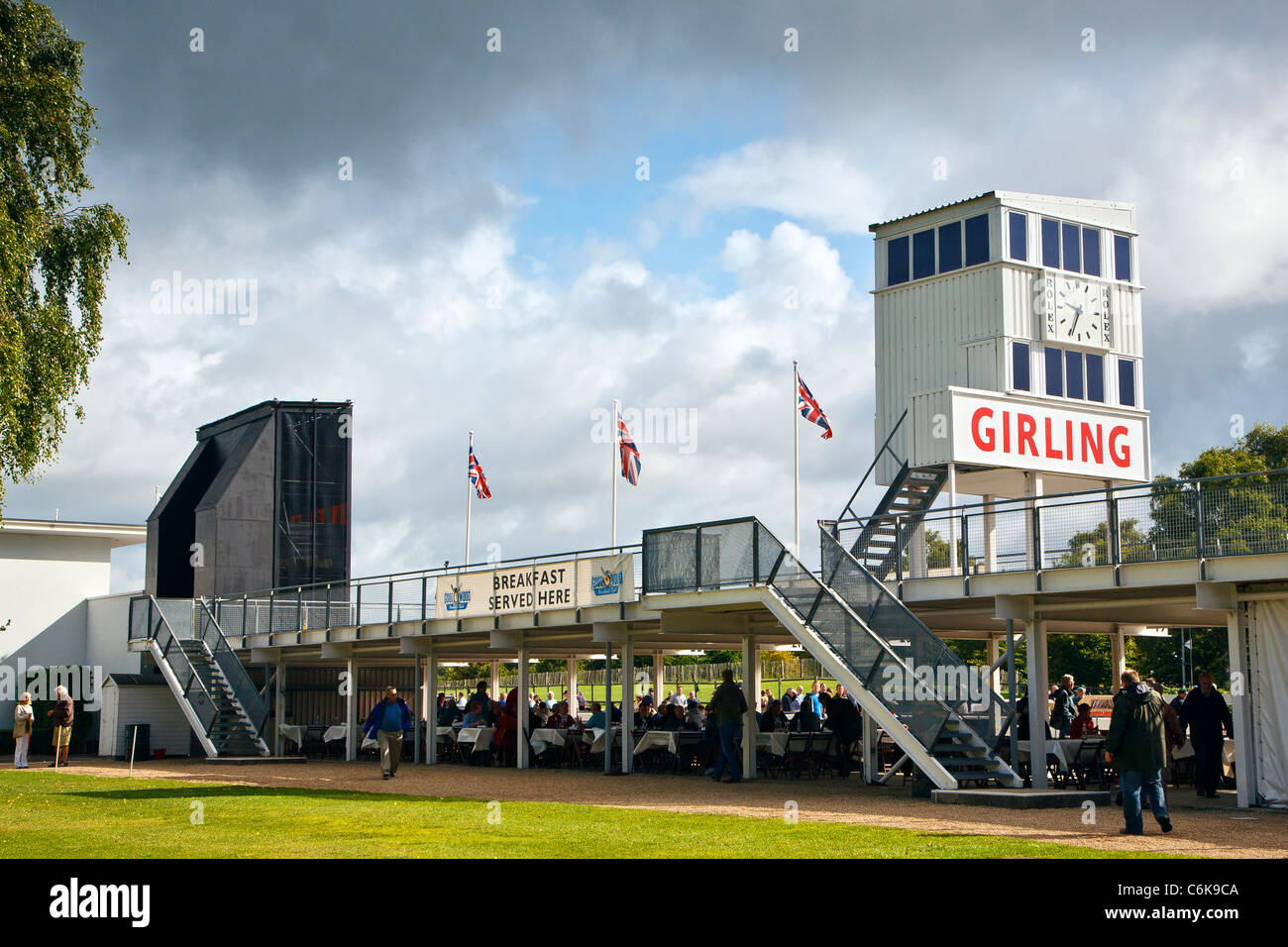 Goodwood Breakfast Club meeting, Goodwood motor racing circuit, West Sussex, Great Britain UK - Stock Image
