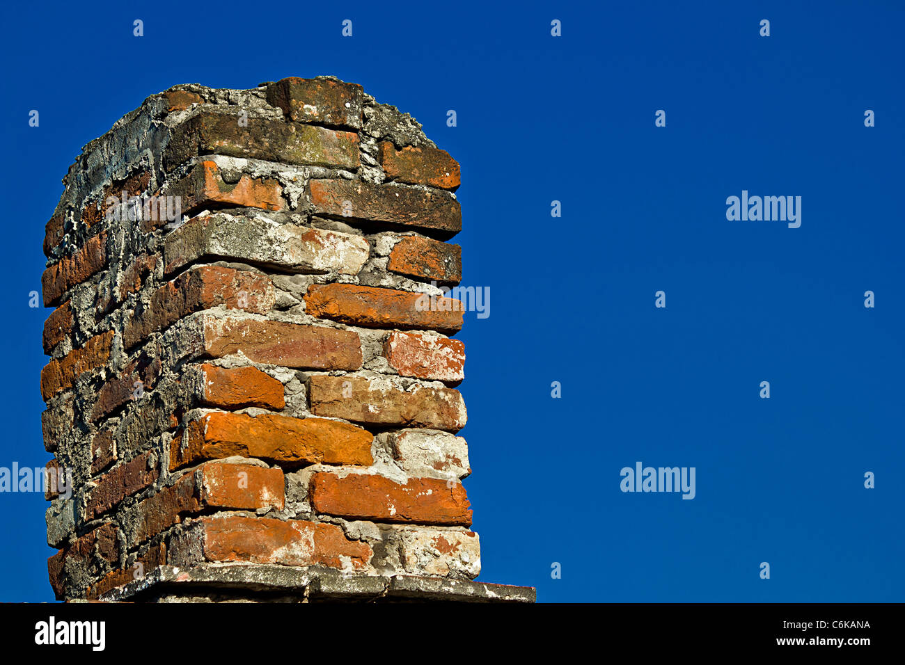 An Old Brick Chimney Stock Photos & An Old Brick Chimney Stock ...