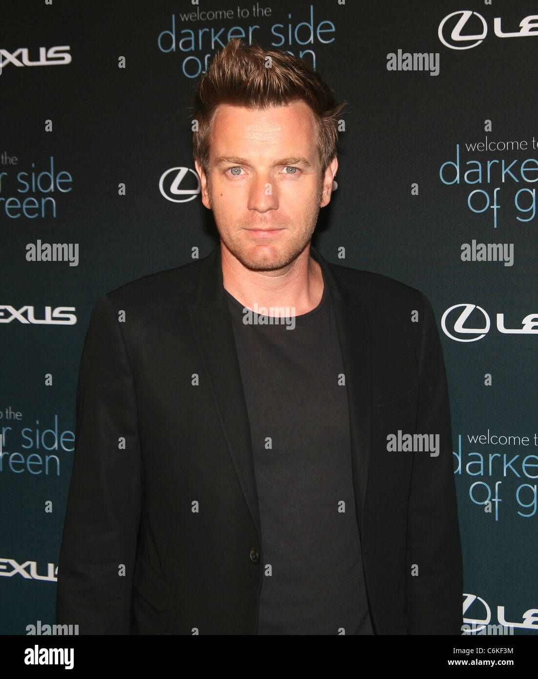 Ewan Mcgregor At The Darker Side Of Green Debate Series At The Bowery Stock Photo Alamy