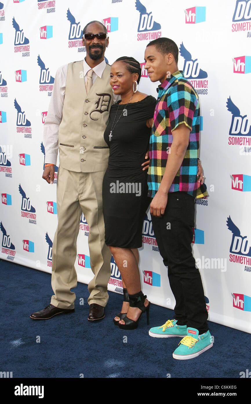 Snoop Dogg, wife Shante Broadus and son Corde Calvin ... Corde Calvin Broadus