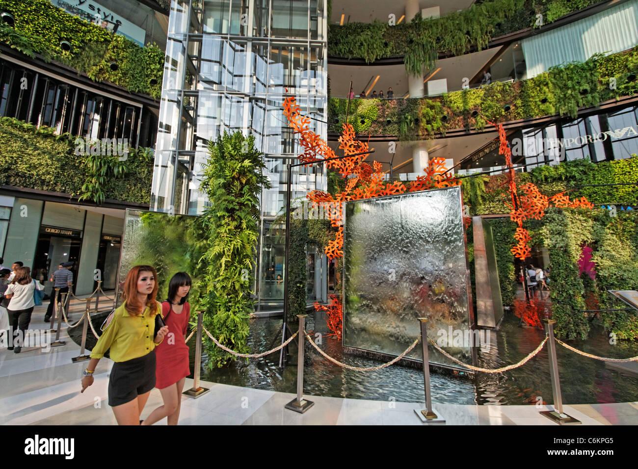 Siam Paragon Shopping Center , Bangkok, Thailand - Stock Image