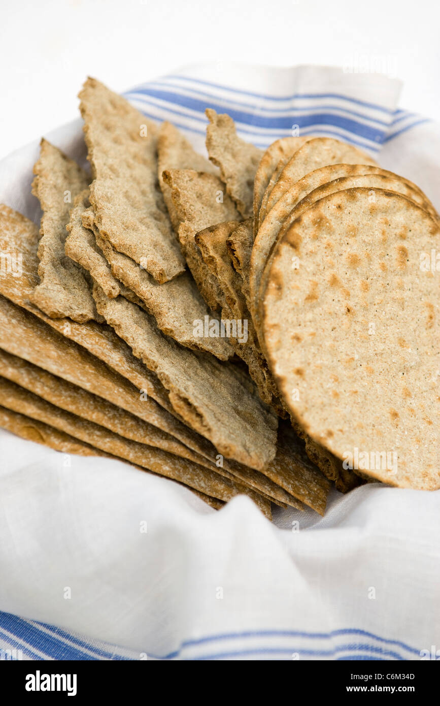 Crisp bread Stock Photo