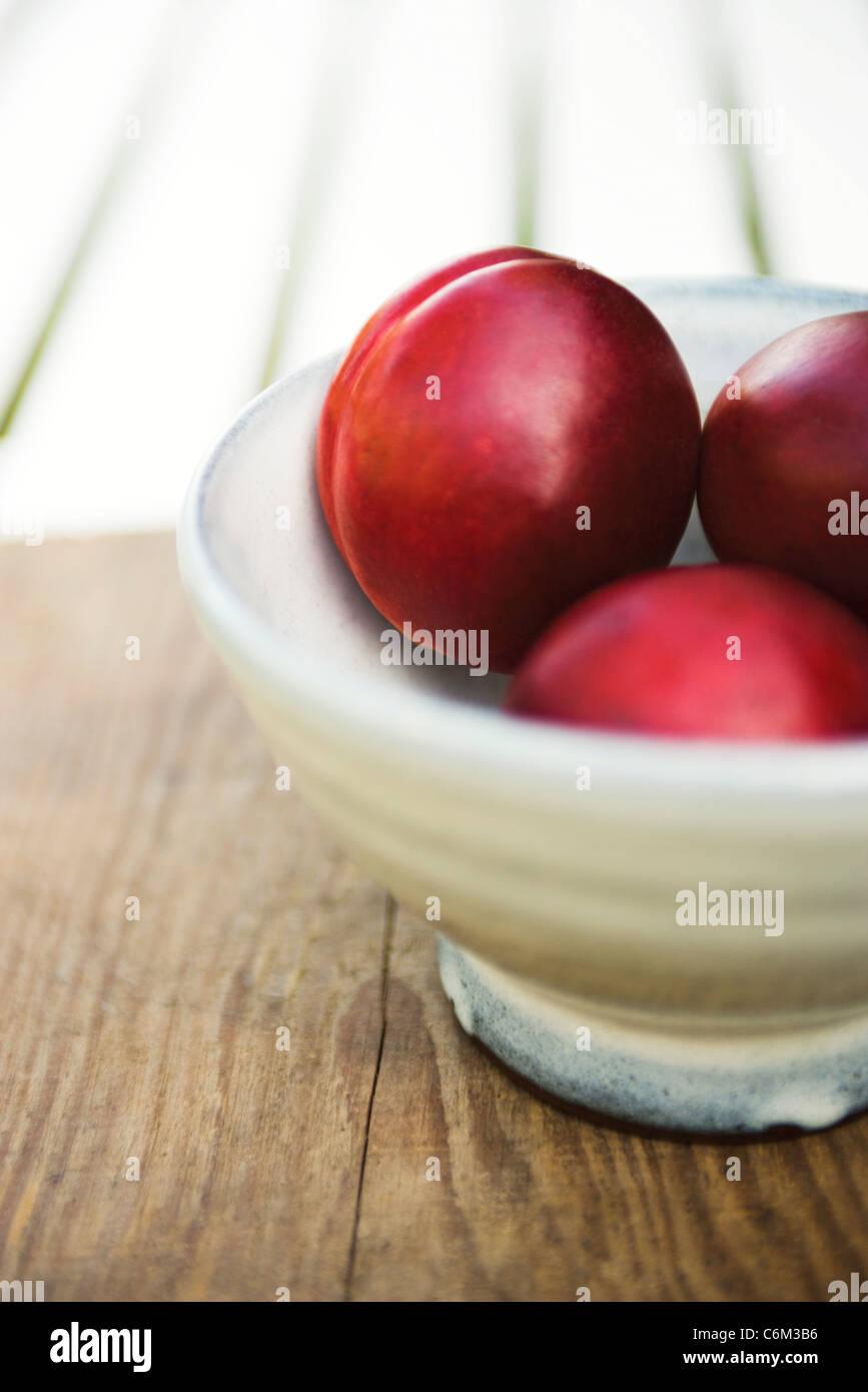 Nectarines - Stock Image