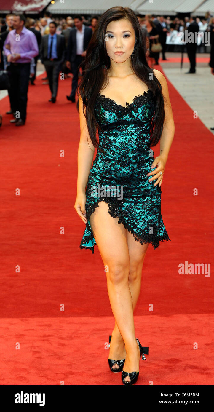 selina lo the uk film premiere of new movie knight and day in