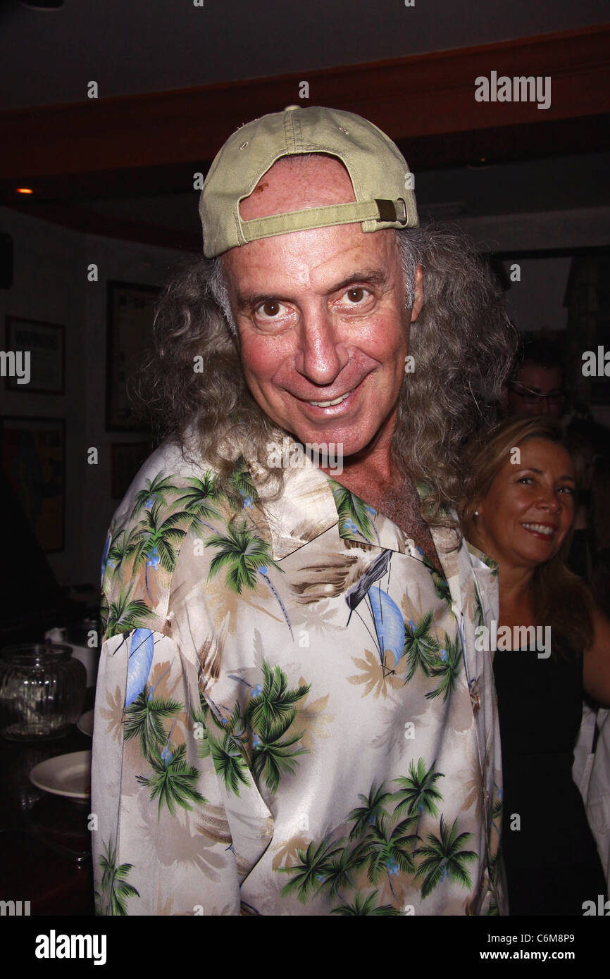 Kenny Kramer Opening night afterparty for the Off-Broadway production of 'The Flying Karamazov Brothers in 4 - Stock Image