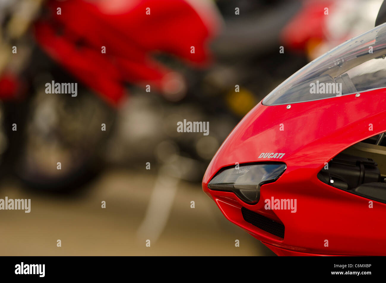 Ducati 1198 - Stock Image